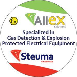 Steuma sticker gasdetectie